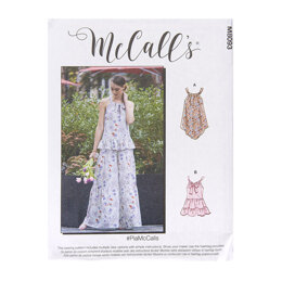 McCall's Misses' Tops M8093 - Sewing Pattern