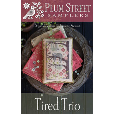 Plum Street Samplers Tired Trio - PL162 -  Leaflet