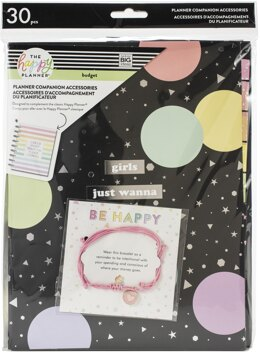 Me & My Big Ideas Happy Planner Classic Planner Companion Accessories - Budget, 30/Pkg
