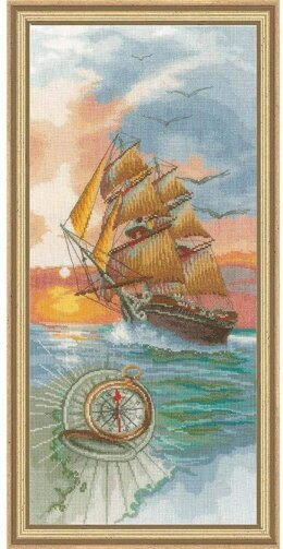 Lanarte Discovery Travel Cross Stitch Kit - Multi