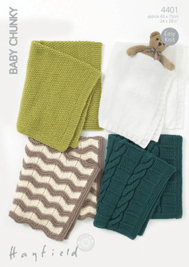 Blankets in Hayfield Baby Chunky - 4401