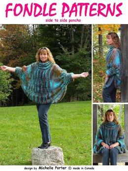 Side To Side Poncho 204