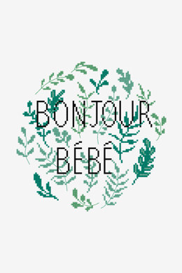 Bonjour Bebe in DMC - PAT0707 - Downloadable PDF
