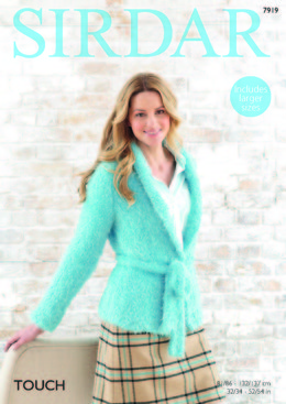 Waistcoat and Jacket in Sirdar Touch - 7919 - Leaflet