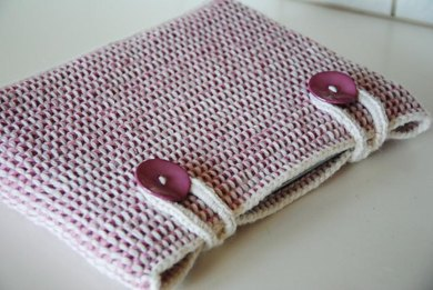 Generic Tunisian Crocheted Computer Sleeve Pattern