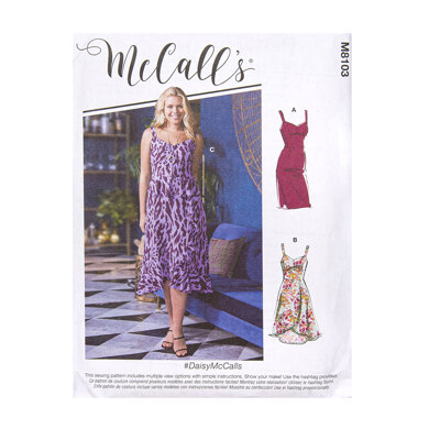 McCall's Misses' Dresses M8103 - Sewing Pattern
