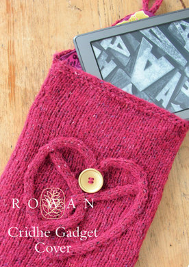 Cridhe Gadget Cover in Rowan Felted Tweed