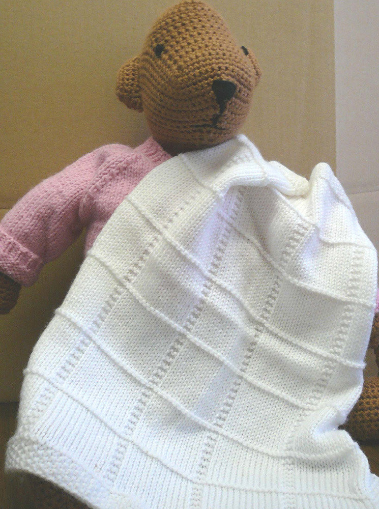Free 4 Ply Knitting Patterns For Baby Blankets : Baby Afghan Squares in Plymouth Dreambaby DK - F013 ...