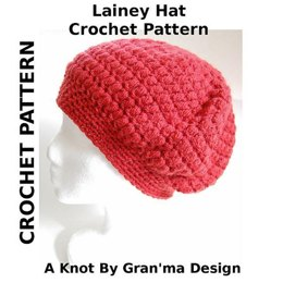 Lainey Hat Crochet Pattern