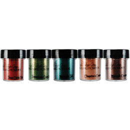 Lindy's Stamp Gang 2-Tone Embossing Powders .5oz 5/Pkg - Autumn