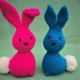 A Pair of Easter Bunnies