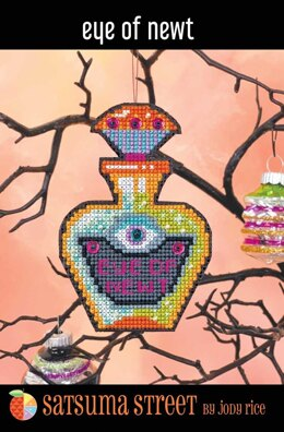 Satsuma Street Eye of Newt Cross Stitch Kit