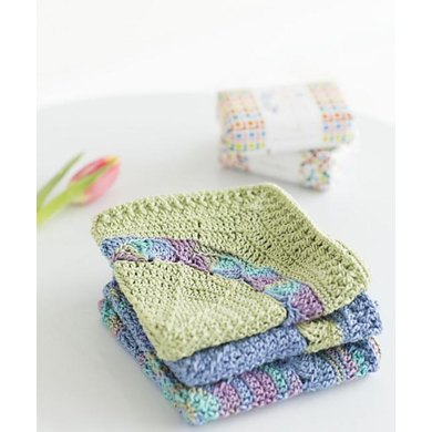 Water Lily Washcloths