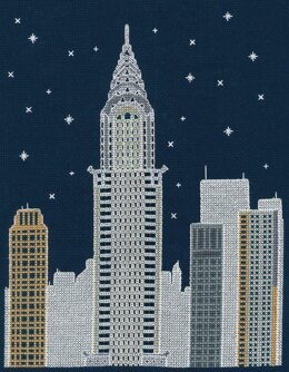DMC New York by Night 14 Count Cross Stitch Kit