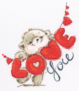 Rto I Love You I Cross Stitch Kit