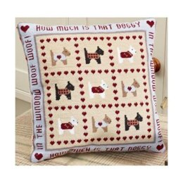 Historical Sampler Company How Much is that Doggy Tapestry Kit