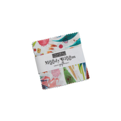Moda Fabrics Moody Bloom 2.5in Charm Pack