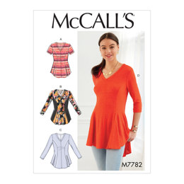 McCall's Misses'/Women's Tops M7782 - Sewing Pattern