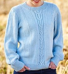 Cable and Textured Unisex Jumper