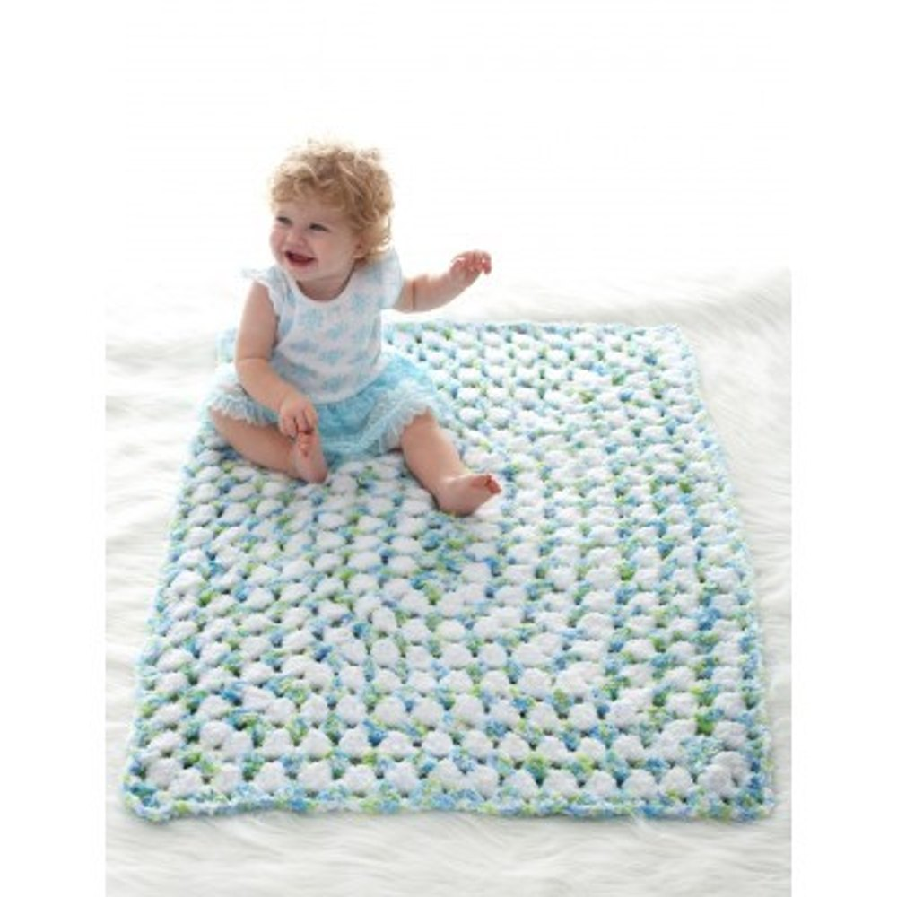 Fast And Cozy Blanket In Bernat Pipsqueak Knitting