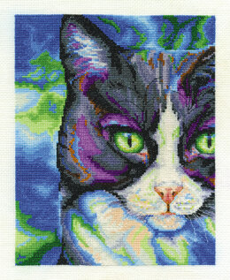 DMC Snowshoe 14 Count Cross Stitch Kit - 31cm x 22cm