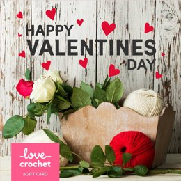 LoveCrochet eGift Card - Valentine's Day 2