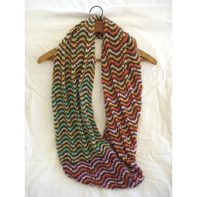 Colorful Lace Cowl