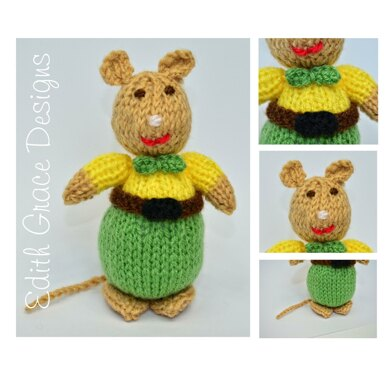 Gentleman Mouse Doll