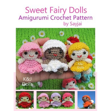 Free Crochet Amigurumi Fairy Patterns | 390x390
