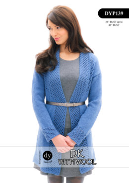 Cardigan in DY Choice DK With Wool - DYP139