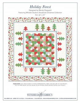 Windham Fabrics Holiday Forest - Downloadable PDF