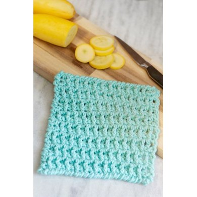Lattice Washcloth In Red Heart Lm5938 Downloadable Pdf