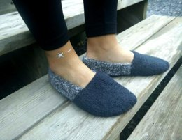 Cozy Nights Felted Slippers