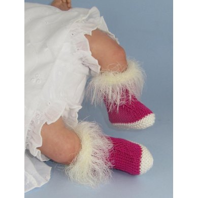 Baby Fairy Booties (Bootees)