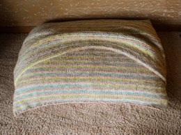 Knit Pillow Pet  Bed w/blanket