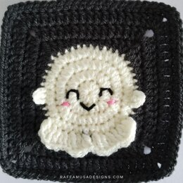 Ghost Granny Square