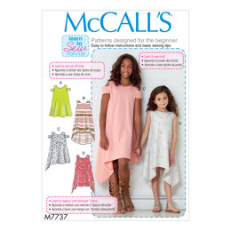 McCall's Children's/Girls' Dresses M7737 - Sewing Pattern