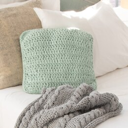 Hoooked RibbonXL Crochet Cushion DIY Kit