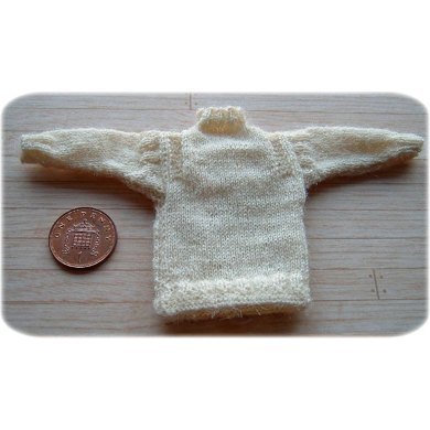 1:12th scale Traditional fishermans ganseys set 2