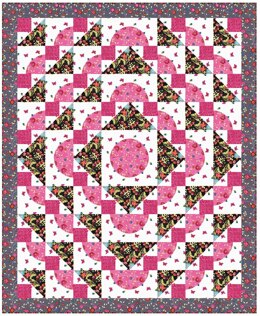 Michael Miller Fabrics How Does Your Garden Grow Quilt - Downloadable PDF