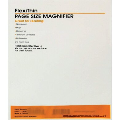 Mighty Bright Flexithin - Page Size Magnifier