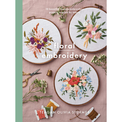 Floral Embroidery by Teagan Olivia Sturmer