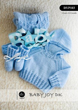 Hooded Jumper & Bootees in DY Choice Baby Joy DK - DYP103