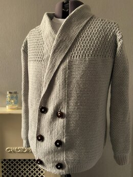 Double Front Cardigan