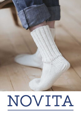Basic Socks in Novita 7 Veljestä - Downloadable PDF