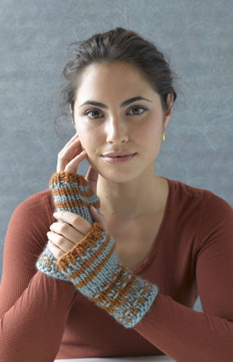 O'Meara's Mitts in Lion Brand Alpine Wool - 90437AD