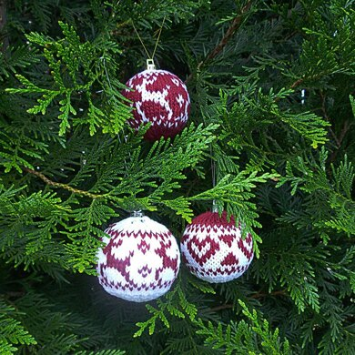 Nordic Inspired Christmas Baubles