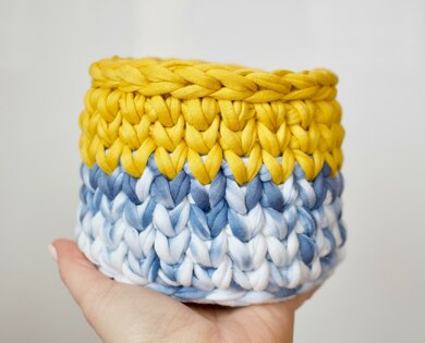Two Toned Basket