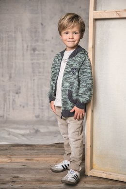 Arthur Jacket in Phildar Phil Spray and Cabotine - 006 - Downloadable PDF