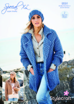 Jackets in Stylecraft Special Super Chunky - 9591 - Downloadable PDF